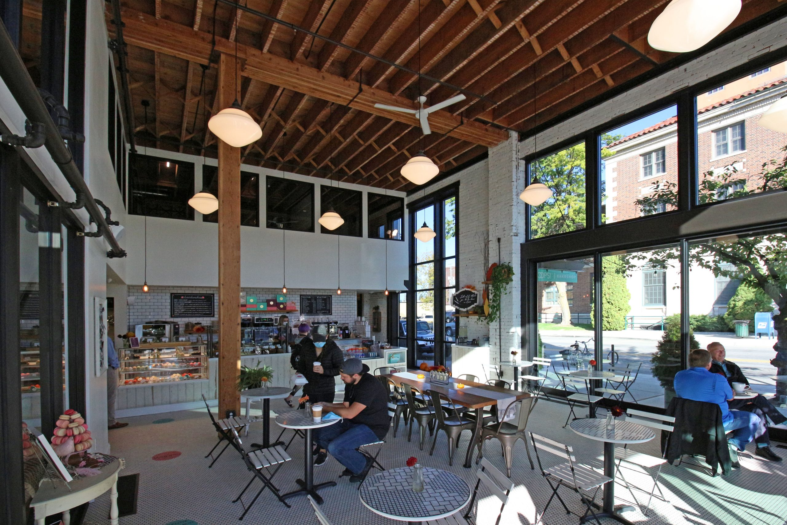 The Wiggett building is a contemporary mixed-use building renovation of the old historic Wiggett building in downtown Coeur d'Alene, Idaho.